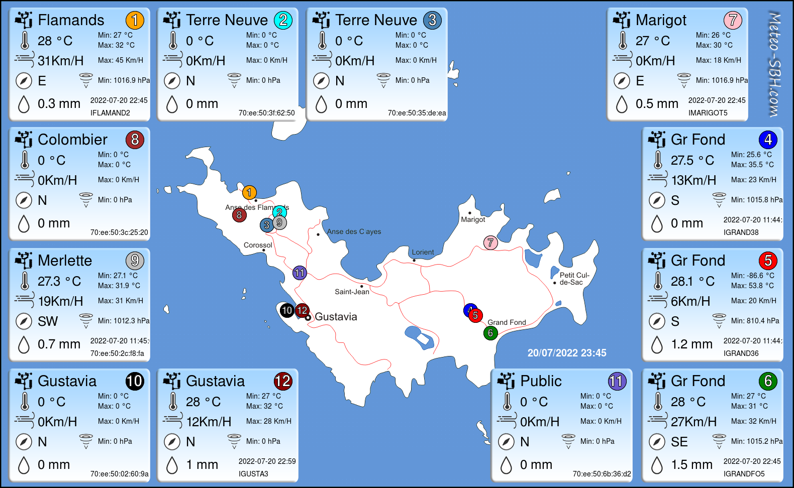 PWS Map SBH